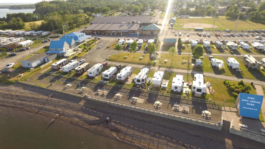 Strange Inch Arran Park Camping Town Of Dalhousie Download Free Architecture Designs Sospemadebymaigaardcom